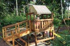Finished Playset with Canopy | by Cut To Pieces