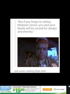 Never risking this one. ← madame zeroni cursing you will serious sh*t. Just go watch/read Holes by Louis Sachar.