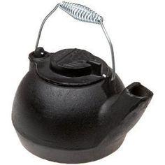 Old Mountain Cast Iron Tea Kettle Wood Stove Humidifier | eBay