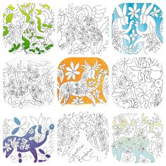 Save the Bees Otomi Coloring book PDF with proceeds от CasaOtomi