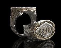 """Check out new work on my @Behance portfolio: """"Jewelry Design: Strife Ring"""" http://be.net/gallery/36839181/Jewelry-Design-Strife-Ring"""