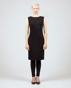 LUOTO Dress Workwear Fashion, Work Wear, High Neck Dress, Dresses, Vestidos, Work Clothes, Gowns, Career Wear, Workwear