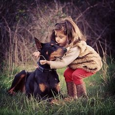 These two are inseparable. Like, seriously. | The Friendship Between A Kid And Her Dog Will Melt Your Heart