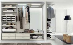 Vestidor moderno / de madera lacada BOISERIE B02 md house