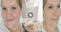 She washed a face this broth twice a week. End result? INCREDIBLY!