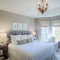 Bright Master Bedroom Paint Making Your Goodnight Sleep: Awesome Master Bedroom Paint Colors Idea Involving Soft Brown Combined With Grey Di. Dream Bedroom, Home Bedroom, Master Bedroom, Bedroom Decor, Bedroom Ideas, Bedrooms, Fairytale Bedroom, Bedroom Scene, Peaceful Bedroom
