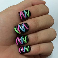 ECBASKET 24 Pcs Colorful False Full Cover 3D Nail Art Tips ** You can find more details by visiting the image link.