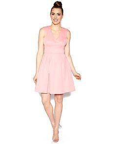 SWEET ROSES BROCADE DRESS