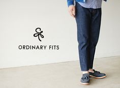 【楽天市場】ブランド別> 【O】> Ordinary fits(オーディナリーフィッツ)> DENIM CROPPED PANTS:Crouka LR(クローカ エルアール)
