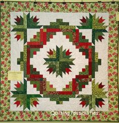 Cozy Quilt Design Cactus Wreath Jelly Roll Pattern