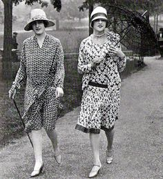 Phryne and Dot get Dolly dressed like a respectable lady for a visit to the infirmary.  They have to use Dot's clothes which are more to size and also more conservative than anything in Phryne's wardrobe. 1927, summer dresses