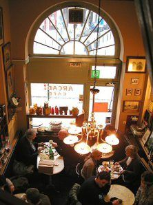 Arcadi - cute lunch spot in the center of Brussels!