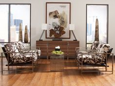 Rent the Brindle Pony Accent Chair