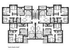 Apartment Building Architectural Plans sunworld vanalika floor plans | planos♥ | pinterest
