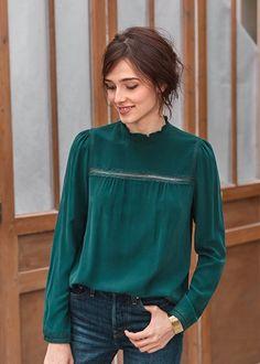 Mode 2017 : chemise victorienne