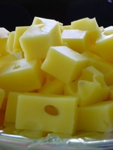 Swiss cheese is a generic name for several related varieties of cheese which resemble the Swiss Emmental. Some types of Swiss cheese have a distinctiv Easy Cheese, How To Make Cheese, Food To Make, Making Cheese, Cheese Food, Cheese Sauce, Cheese Recipes, Cooking Recipes, Cooking Tips