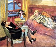 bofransson:    Germaine and Lola Charles Camoin