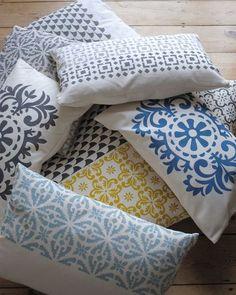 cushions galore, crafts