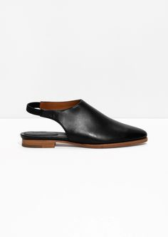 & Other Stories | Slingback Leather Flats