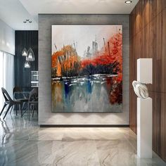 Extra Large Wall Art Textured Painting Original image 0 Large Abstract Wall Art, Large Artwork, Extra Large Wall Art, Large Painting, Canvas Wall Art, Ocean Canvas, Painting Art, Knife Painting, Acrylic Canvas