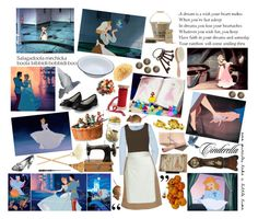"""""""7/50 Cinderella"""" by bl-42 ❤ liked on Polyvore featuring Disney, Garden Trading, Full Tilt, Marni, Antonio Berardi, Repetto, Crabtree & Evelyn, Howard Miller, RTH and Dollhouse"""
