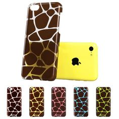 Amazon.com: ESR the Beat Series Hard Clear Back Cover Snap on Case for iPhone 5C (Polka Dots): Cell Phones & Accessories *