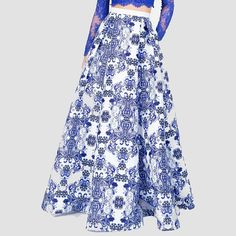 Specifics  Gender	Women  Style	Fashion  Pattern Type	Solid  Waistline	Empire  Dresses Length	Floor-Length  Decoration	None  Silhouette	Expansion  Material	Polyester  Material	satin  Pattern	Floral  Embellishment	Print  Style	Vintage  Season	All-Season  Color	Blue  Size	M,L,XL | Shop this product here: http://spreesy.com/shopforgoodies/787 | Shop all of our products at http://spreesy.com/shopforgoodies    | Pinterest selling powered by Spreesy.com