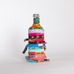 """Festival wristbands: show people your summer is better than theirs."" - Absolut Vodka"