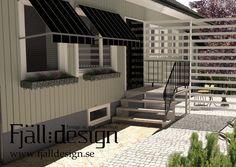 Modellering och rendering av husfasad