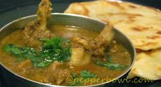 Chicken Kurma, it goes very well with Idlies, Dosa, Parota, Chapathi, Rice and almost everything..This recipe is the very easy and super quick to make.  Click for more info. pepperbowl.com #recipes, #curry, #nonvegetarian