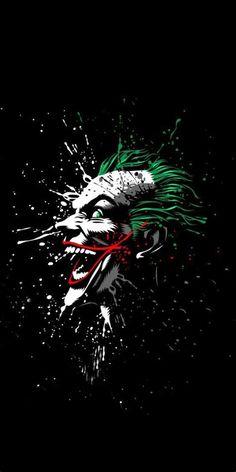Joker Hd Wallpapers For Iphone 6 , image collections of wallpapers - Wallpaper Comic Del Joker, Le Joker Batman, Joker Art, Joker And Harley Quinn, Batman Wallpaper, Hd Wallpaper Für Iphone, Black Wallpaper, Mobile Wallpaper, Desktop