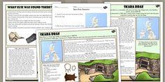 Skara Brae Differentiated Comprehension Activity Sheets - skara
