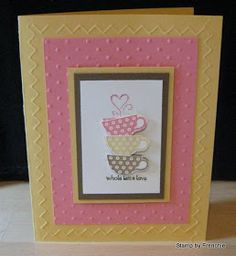 Stamp & Scrap with Frenchie: Patterned Occasions Sample