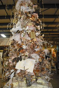 Studio B (UberArt): Twelve Days of Christmas Trees: Day 1