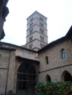 monasteri di subiaco - campanile santa scolastica