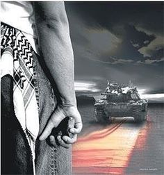 When a land is occupied. Resistance is justified! Palestine, Revolution, Holding Hands, Free