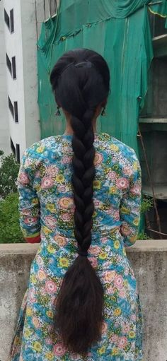 Indian Long Hair Braid, Braids For Long Hair, Girl Pictures, Braided Hairstyles, Hair Beauty, Long Hair Styles, Nice, Nature, Projects