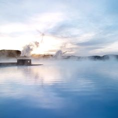 Did you know that Blue Lagoon holds six million liters of geothermal seawater? #BlueLagoon #Iceland #travel