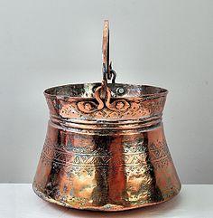 Middle-Eastern Copper Bucket