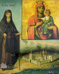 Icoana Maicii Domnului de la Schitul Prodromu - Prodromita Orthodox Icons, Romania, Arizona, Painting, Art, Art Background, Painting Art, Kunst, Paintings