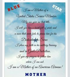 Proud Air Force Mom!