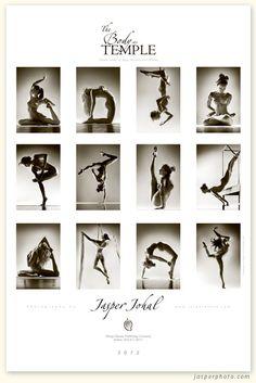 """body as temple"" 2012 calendar by jasper johal photography. naked yoga. beautiful."