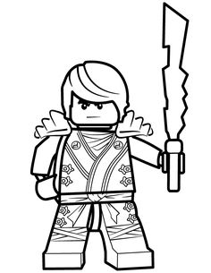 Legos Ninjago Coloring Pages  Greyson LEGO  Pinterest