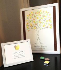 Arbol de huellas- Fingerprints tree