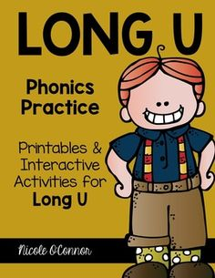 A complete set of interactive phonics resources for Long U!!
