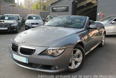 OCCASION BMW SERIE 6 (E64) CABRIOLET 635DA PACK LUXE