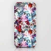 iPhone & iPod Case featuring Floral Pattern by Eduardo Doreni