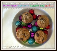 Cookaholic Wife: SRC: Brown Sugar Espresso Chocolate Chip Cookies