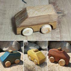 Autos - Holzspielzeug Auto-Kombi Model 1 - ein Designerstück von Hoelzene-Kunst bei DaWanda