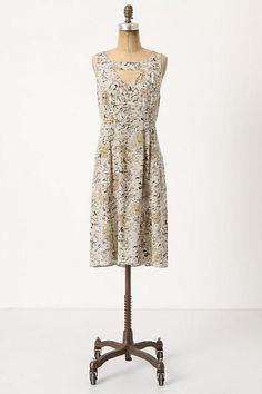 Fan-Cut Iberis Dress - anthropologie.com